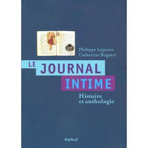 CRITIQUE LITTÉRAIRE Le journal intime