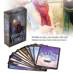 CARTES DE JEU Jouet de cartes de tarot d'anglais pour enfants--S