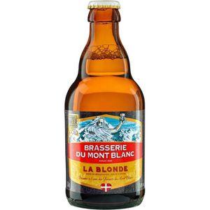 BIÈRE Bière de Mont-Blanc La blonde - 5.8° (33cl) 6 x 33