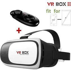 LUNETTES 3D 3D VR BOX 2 Réalité Virtuelle Lunettes casque Conv