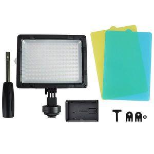TORCHE PHOTO-VIDÉO 160 LED Lampe Torche Vidéo pour Caméra DV Caméscop