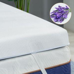 SUR-MATELAS BedStory®  Surmatelas 140x190 cm-Mémoire de forme-