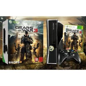 CONSOLE XBOX 360 PACK XBOX360 250G + GEARS OF WAR 3