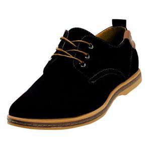 DERBY homme chaussure de ville toile a lacets chaussures