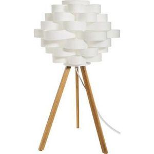 LAMPE A POSER Lampe à Poser Trépied Bambou