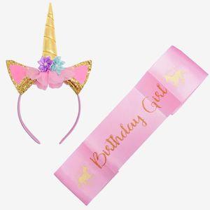 Kit Decoration Anniversaire Licorne Achat Vente Pas Cher