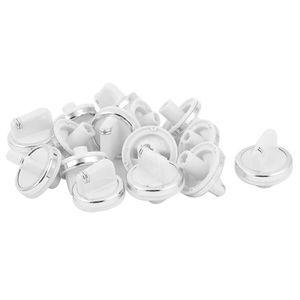 PIÈCE APPAREIL CUISSON 15 pcs Bouton de commande en plastique blanc cuisi