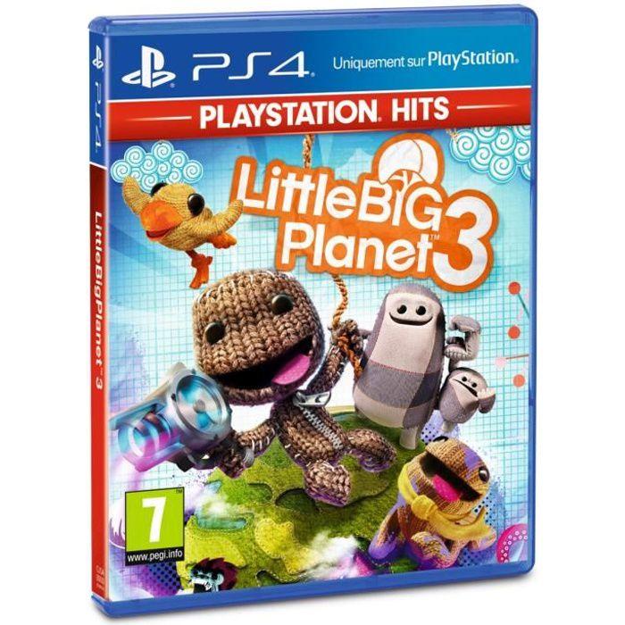 JEU PS4 Little Big Planet 3 PlayStation Hits Jeu PS4