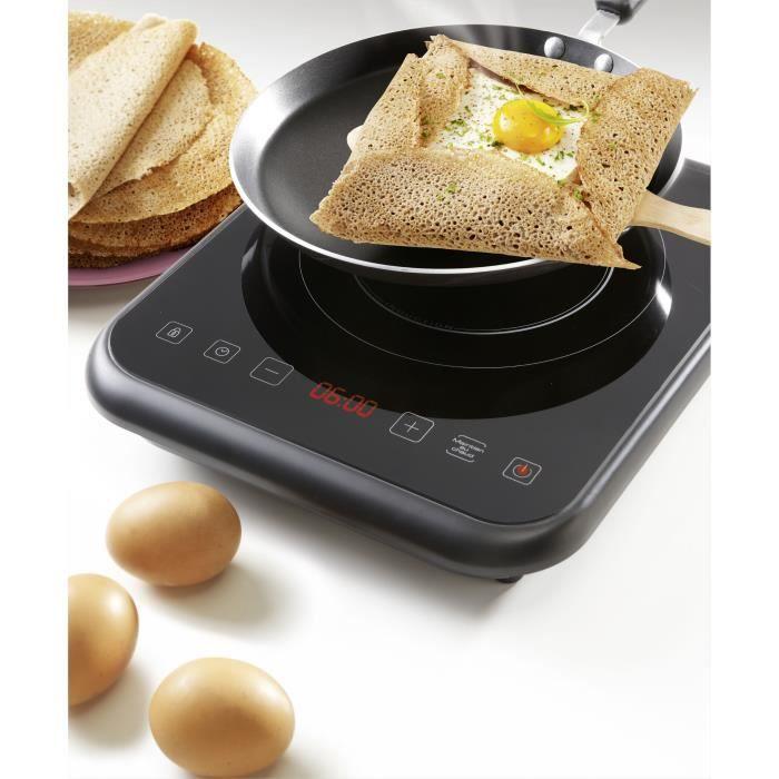 BRANDT TI1FSOFT Table de cuisson posable à induction Noir