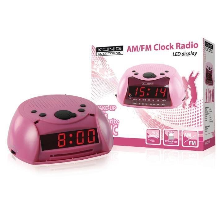 Radio-réveil Am-fm