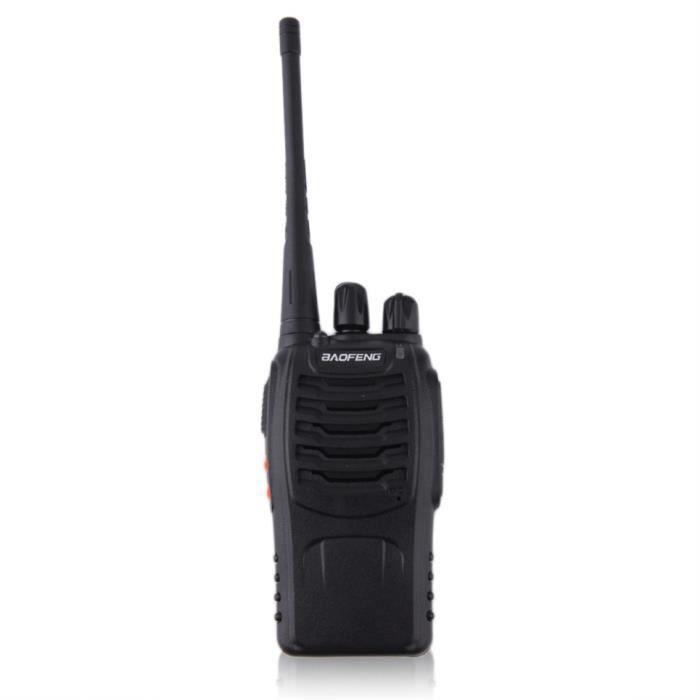 BF-888S Walkie Talkie UHF 400-470MHZ 2-Way Radio 16CH 5W Long Range US Plug