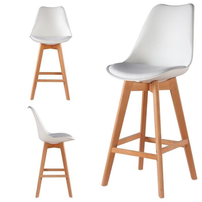Lot Tabourets ScandinaveLa Bar Coloris Tendance Hautes Design Scandinave Style Pour Blanc Ultime Chaises Votre 2 De Skagen 8nOkw0P
