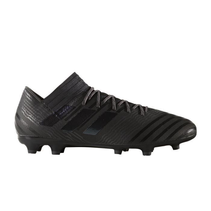 buy popular 7ab15 ca98e Chaussures football adidas Nemeziz 17.3 FG Noir