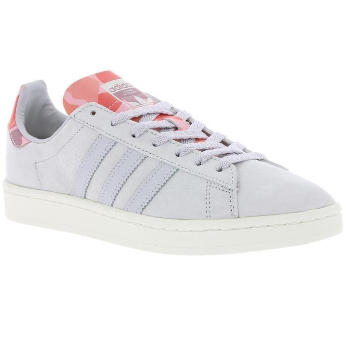 Sneakers Classiques Cuir Suédé Bb9631 Court  - Adidas Gris Gris - Achat / Vente basket  - Soldes* dès le 27 juin ! Cdiscount