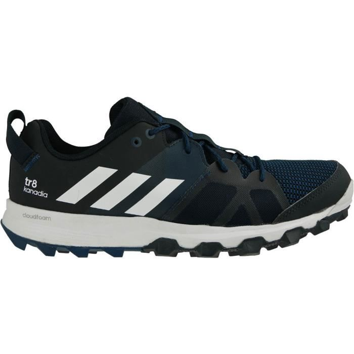 adidas hommes Chaussures de sport course TR8 KANADIA noir / Rouge NEUF YhPeUp2Ws