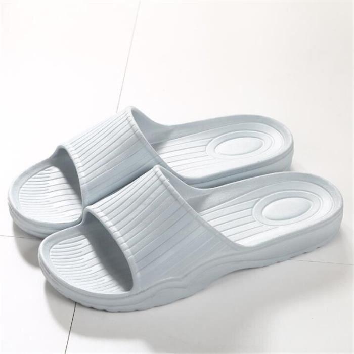 Sandales Homme Marque De Luxe Antidérapant Haut qualité Homme Sandale Durable Grande Taille 40-45 Plus De Couleur bleu GtJC9zm