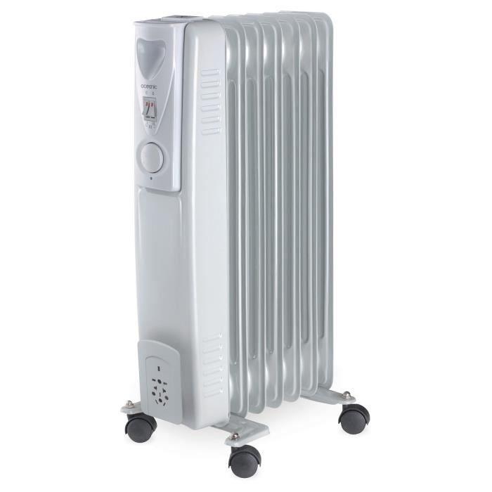oceanic radiateur lectrique bain d 39 huile 1500 watts mobile 3 puissances bh1776 achat. Black Bedroom Furniture Sets. Home Design Ideas