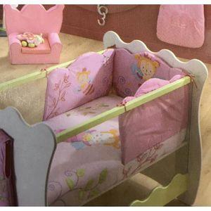 tour de lit minnie achat vente tour de lit minnie pas. Black Bedroom Furniture Sets. Home Design Ideas