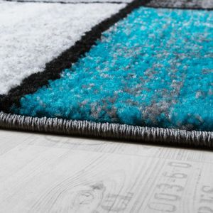 tapis turquoise 160x230 achat vente tapis turquoise. Black Bedroom Furniture Sets. Home Design Ideas