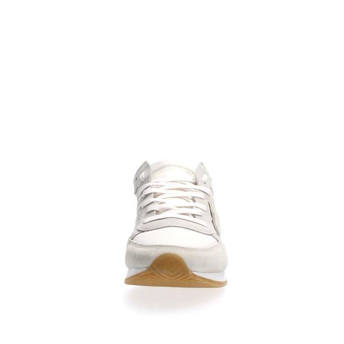 PHILIPPE MODEL PARIS SNEAKERS Homme WHITE, 45