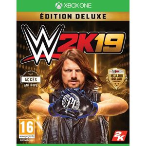 JEU XBOX ONE WWE 2K19 Deluxe Édition Xbox One