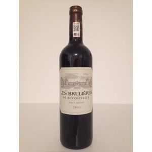 VIN ROUGE Les Brulières de Beychevelle 2011 Vin rouge  Haut-