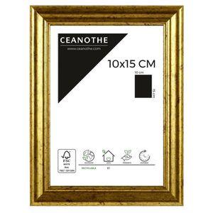 CADRE PHOTO Cadre photo Circée Classique doré 10x15 cm - Brio,