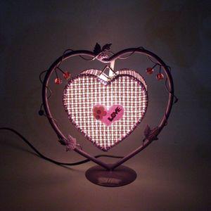LAMPE A POSER Lampe de chevet Créativité Fleur ''LOVE'' Lampe de