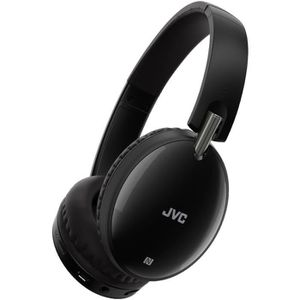 CASQUE - ÉCOUTEURS JVC HA-S70BT-B-E Casque Bluetooth avec 24 heures d