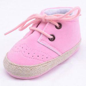 BOTTE Mode doux infantile nouveau-né bébé fille enfant doux chaussures Sneaker nouveau-né@RoseHM Rn0DEFSOv