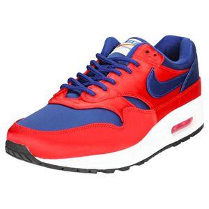 BASKET Nike Air Max 1 Se Homme Baskets rouge Bleu