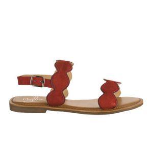 13475235e288ae SANDALE - NU-PIEDS Nu pieds femme - MIGLIO - Rouge - 39