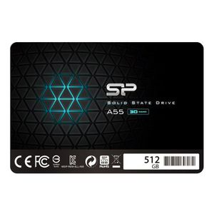 DISQUE DUR SSD Silicon Power SSD 512Go 3D NAND A55 SLC Cache Perf