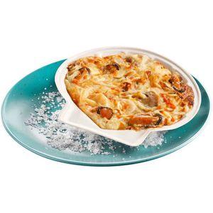 POISSON CUISINÉ Coquilles de fruits de mer surgelées à la crème na