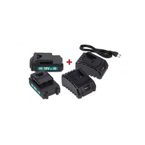 BATTERIE MACHINE OUTIL POWER PLUS  POWEB9090 2 x batterie 18v li 1.5ah +