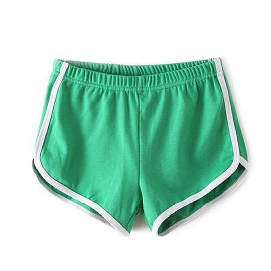 Sport Femme De Short Short De Vert YeIWEH2D9