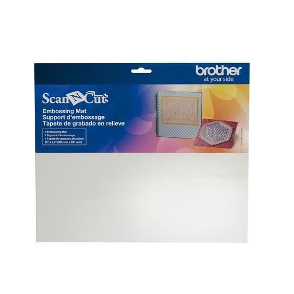 PLAQUE - POCHOIR Tapis d'embossage Scan N Cut - Brother Non Pertine