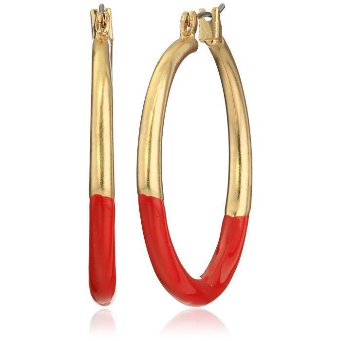 Kenneth Cole New York Hoop Earrings TGJ8Y