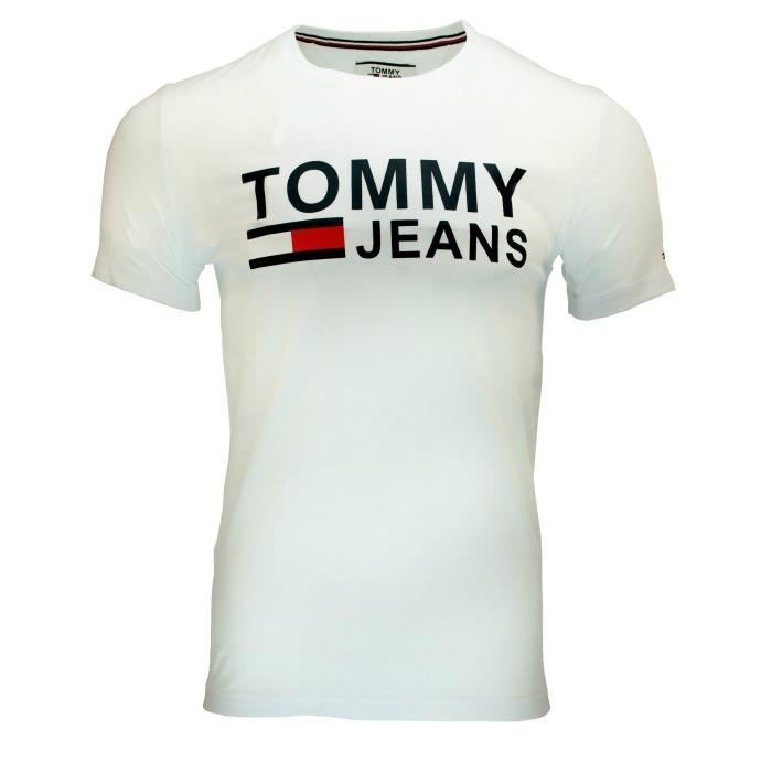 aafe6f8a4ee3b T-shirt homme tommy hilfiger - Achat / Vente pas cher