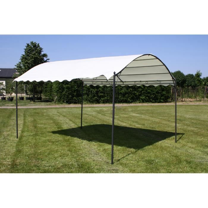 Tente de Jardin 3 × 4 × 2.6 m gazébo en métal pour barbecue pique ...