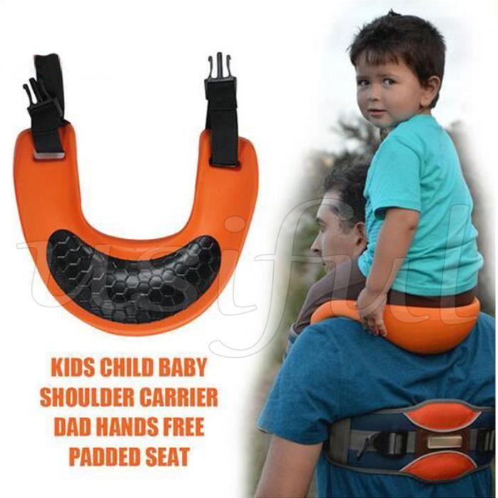 d38c7ed4c274 PORTE BEBE-Selle de siège pour enfants-Sac à dos pour bébé-Sangles de  cheville Mains libres