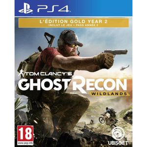 JEU PS4 Ghost Recon Wildlands Year 2 Gold Jeu PS4