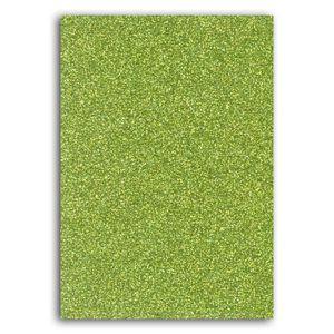 Oh ! Glitter Carnet d idée glitter décorer 7x10cm vert