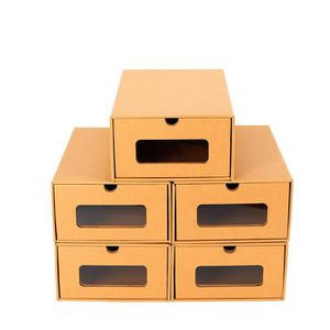 BOITE DE RANGEMENT 10PCS Boîte à Chaussures en Papier Epais Boîte de