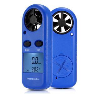 ANÉMOMÈTRE - LUXMÈTRE Multifonctions LCD Mini Anémomètre Vitesse du vent