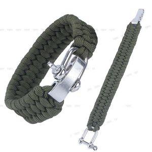 BRASSARD DE JEU - MATCH 1pcs Boucle Paracord Bracelet Outdoor Survival Cam 1298f289bc3e