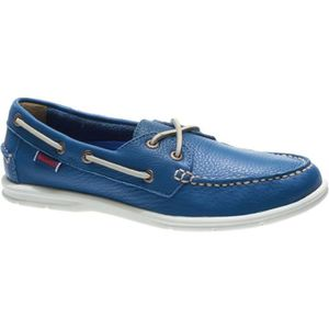 CHAUSSURES BATEAU Litesides two eyes blue tumbled leather - Chaussur