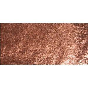 FEUILLE METALLIQUE 5 feuilles déco métal cuivre