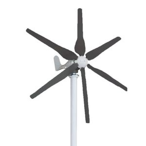 EOLIENNE TEMPSA Générateur de Vent 500W Turbine 13(m/s) 6 L