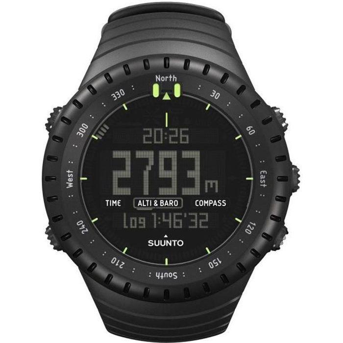 SUUNTO Montre GPS Core - Noir